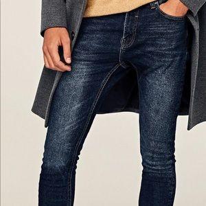 Zara Skinny Jeans with Zip